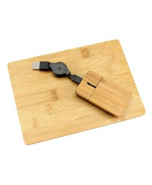 Set-Mouse-+-Pad-de-Bamboo