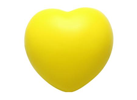 Corazón Anti-Stress amarillo