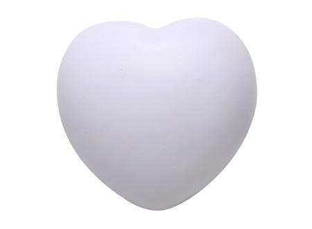 Corazón Anti-Stress blanco