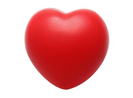 Corazón Anti-Stress rojo