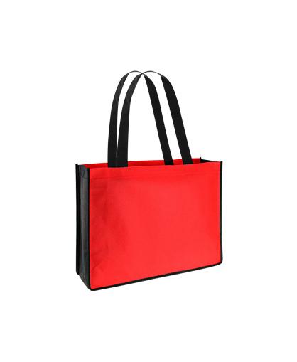 bolsa ecologica feria congreso Rojo/Negro