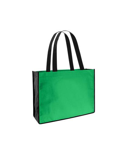 bolsa ecologica feria congreso Verde/Negro