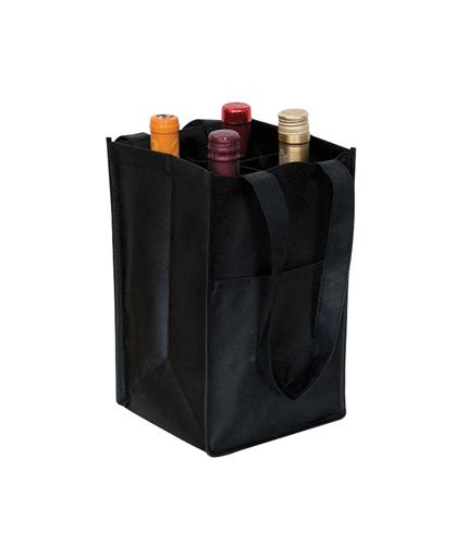 bolsa ecologica para 4 vinos