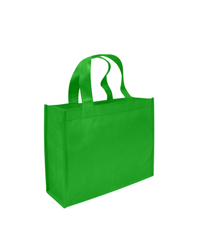 Bolsa ecologica para libros verde pistacho