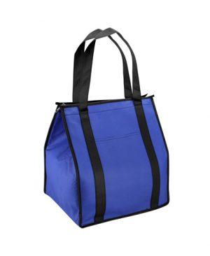 bolsa ecologica cooler azul