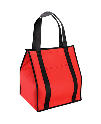bolsa ecologica cooler rojo