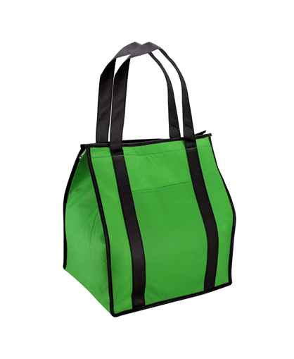 bolsa ecologica cooler verde
