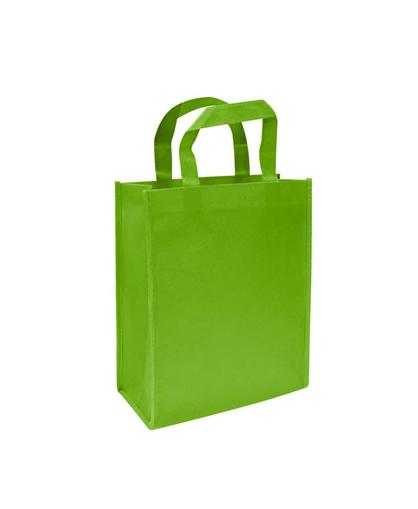 Bolsa Ecologica mediana verde pistacho