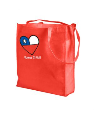 bolsa-eco-vamos chile shopping rojo