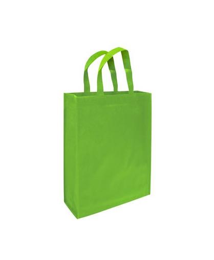 bolsa ecologica  verde pistacho