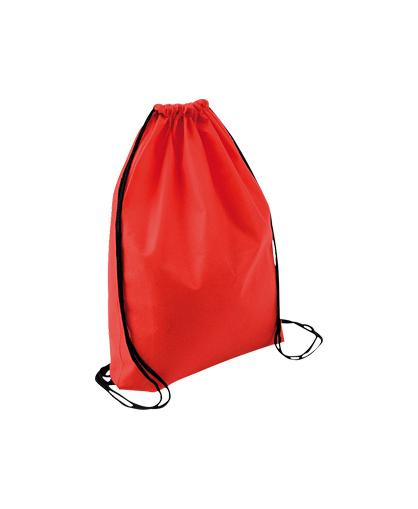 bolso mochila morral rojo