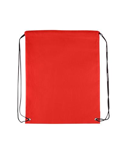 bolso mochila morral rojo abierto