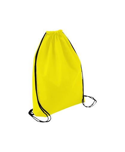 bolso mochila morral amarillo