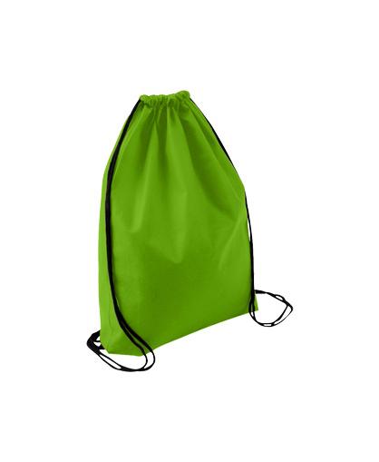 bolso mochila morral verde pistacho