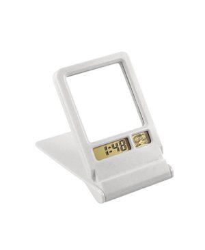 Espejo con Reloj-Alarma