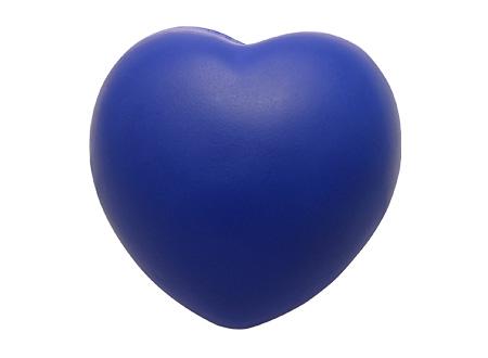 Corazón Anti-Stress-Azul