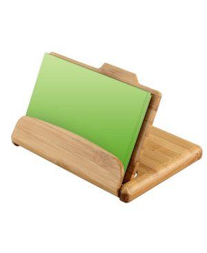 Memo Set de Bamboo - uso