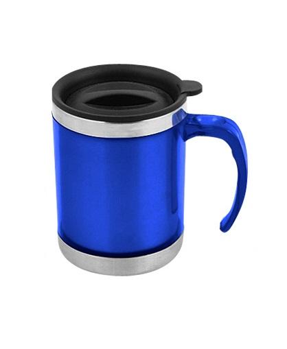 Mug de Acero Inoxidable 440cc-azul