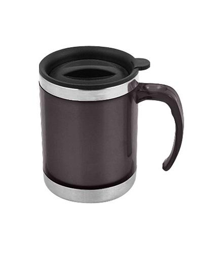 Mug de Acero Inoxidable 440cc-gris