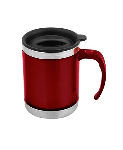 Mug de Acero Inoxidable 440cc-rojo
