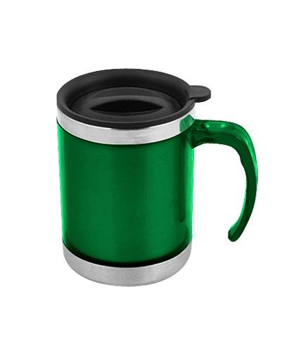 Mug de Acero Inoxidable 440cc-verde