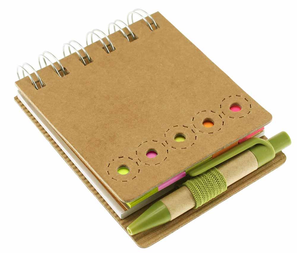 N12-Memo Set Ecológico con Bolígrafo