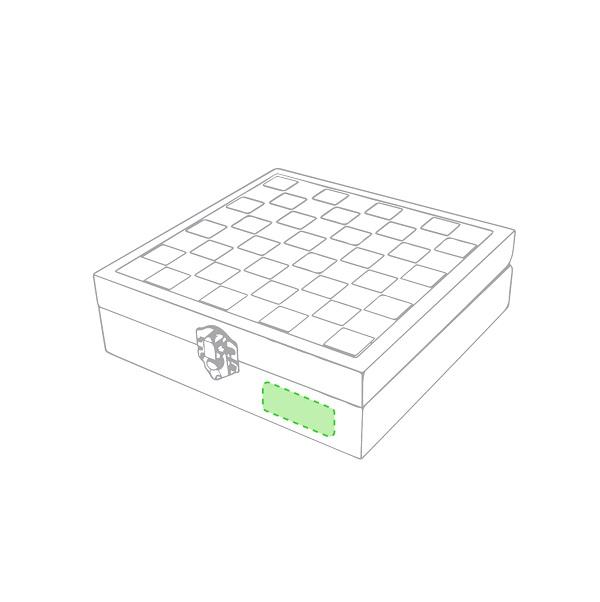 Set vino juego ajedrez caja madera (2)
