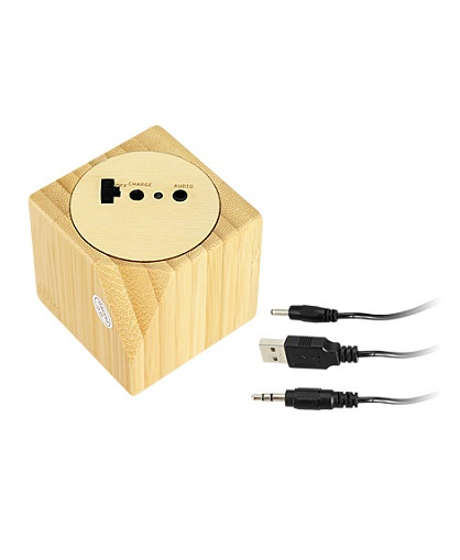 USB PARLANTE BAMBOO CABLES