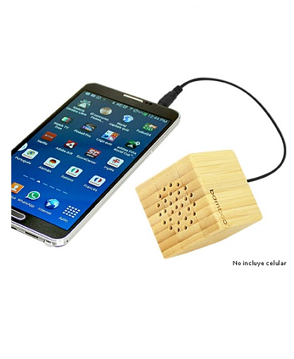 USB PARLANTE BAMBOO -USO