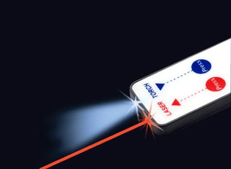 Llavero   Láser   LED