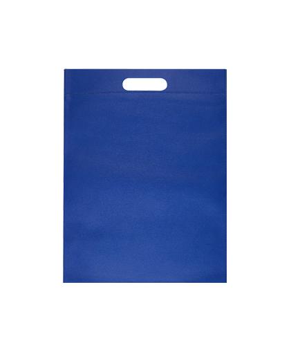 bolsa promocional ecologica azul rey