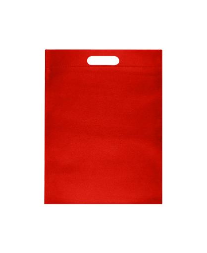 bolsa promocional ecologica rojo