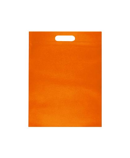 bolsa promocional ecologica naranjo