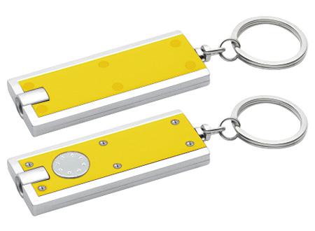 Llavero-Linterna Clásico-Amarillo