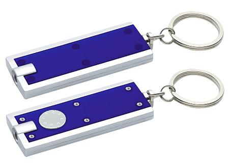 Llavero-Linterna Clásico-Azul