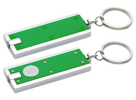 Llavero-Linterna Clásico-Verde