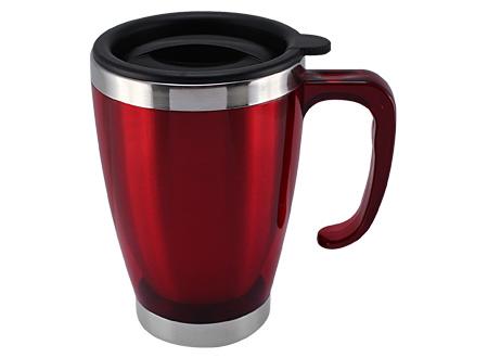 m2-Mug de Acero Inoxidable 44cc-rojo