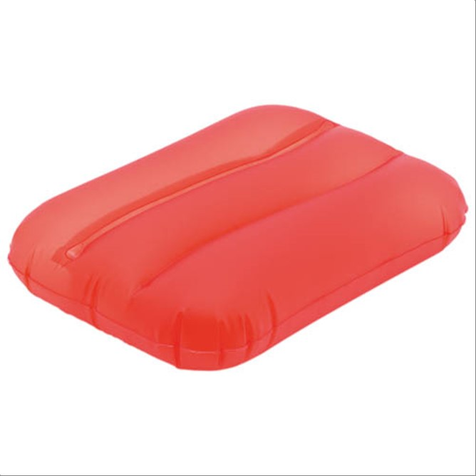 ALMOHADA INFLABLE  ROJO
