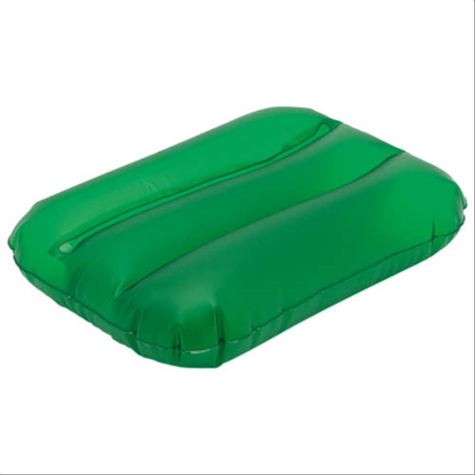 ALMOHADA INFLABLE  VERDE