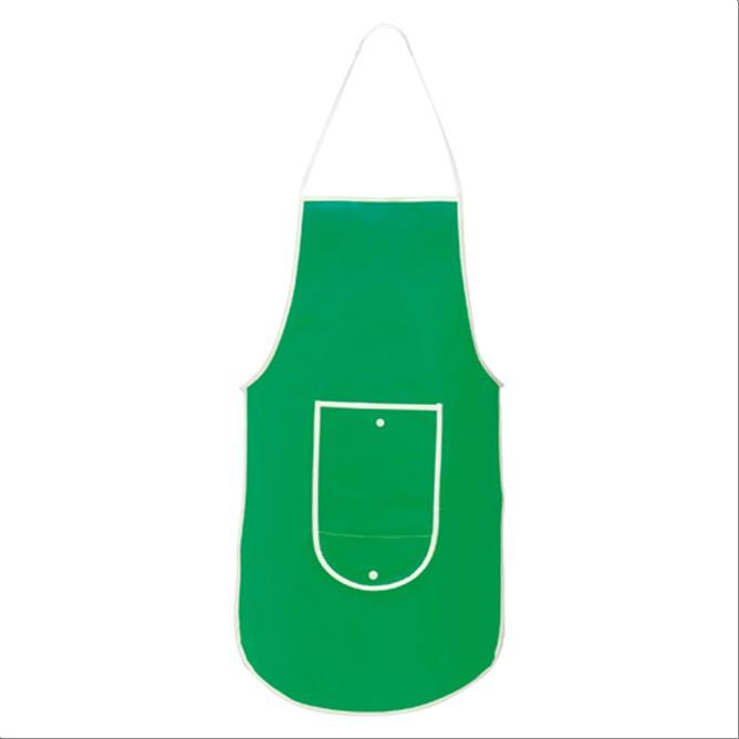 Delantal pechera plegable Verde