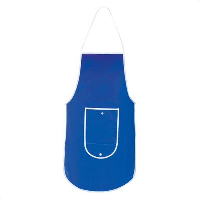 Delantal pechera plegable Azul