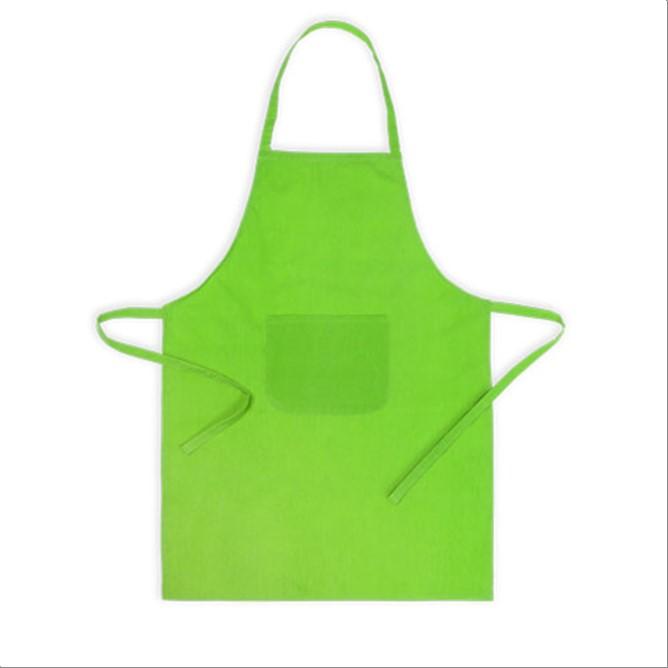 Delantal pechera verde claro