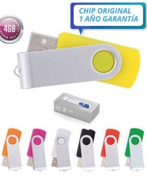 PENDRIVE CLASICO 4 GB CON CAJA