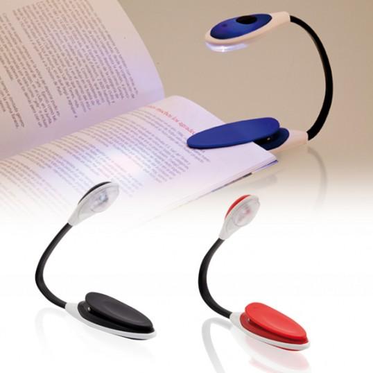 Lampara lectura easy power art culos publicitarios regalos corporativos merchandising - Lampara lectura ...