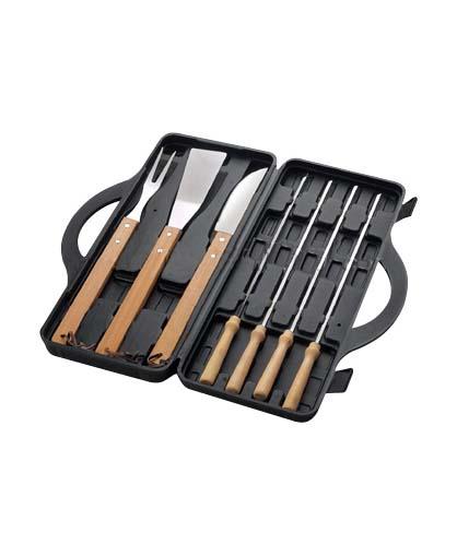 Set BBQ en Maletín Plástico