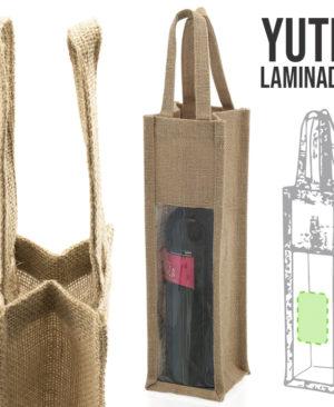 bolsa de yute laminado