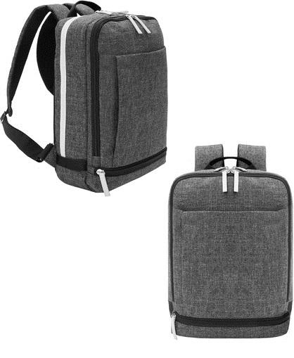 Mochila porta notebook corpotativa con tres bolsillos - Notebook con porta parallela ...
