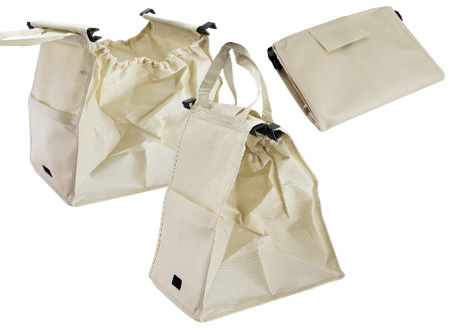 Bolsa reciclable para supermercado-beige