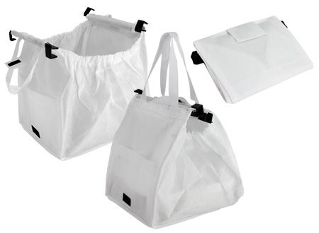 Bolsa reciclable para supermercado-blanco