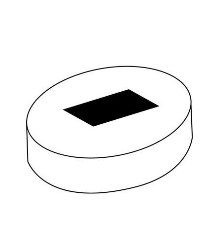 Base con imán para los clips -LOGO